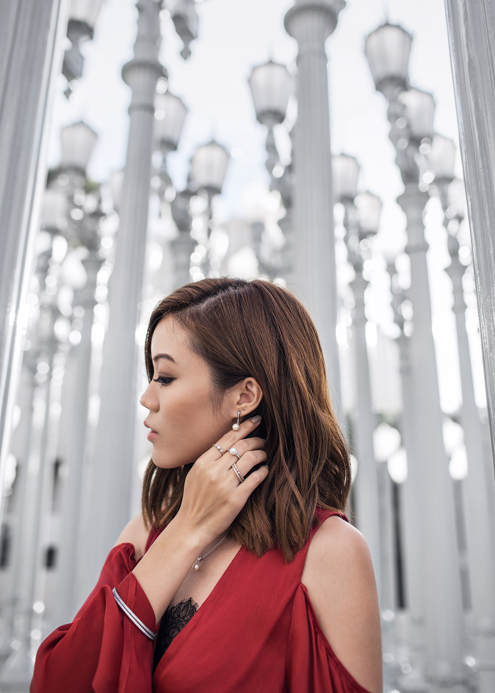 Marie Claire, Pandora Jewelry, Elegant Beauty, C/MEO Collective, Holiday Style, LACMA