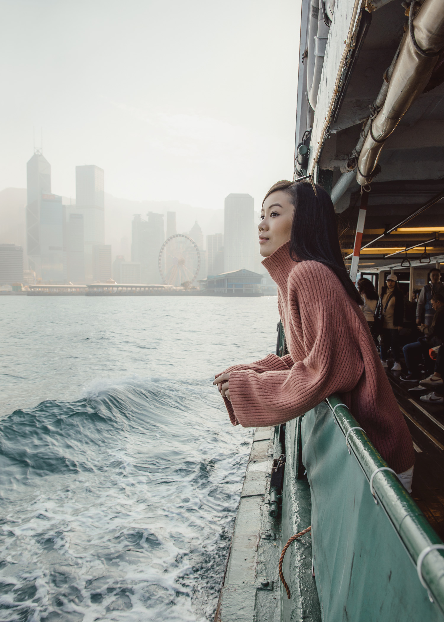 Star Ferry Hong Kong Jenny Tsang of Tsangtastic in Hong Kong must see instagram spots must visit attractions