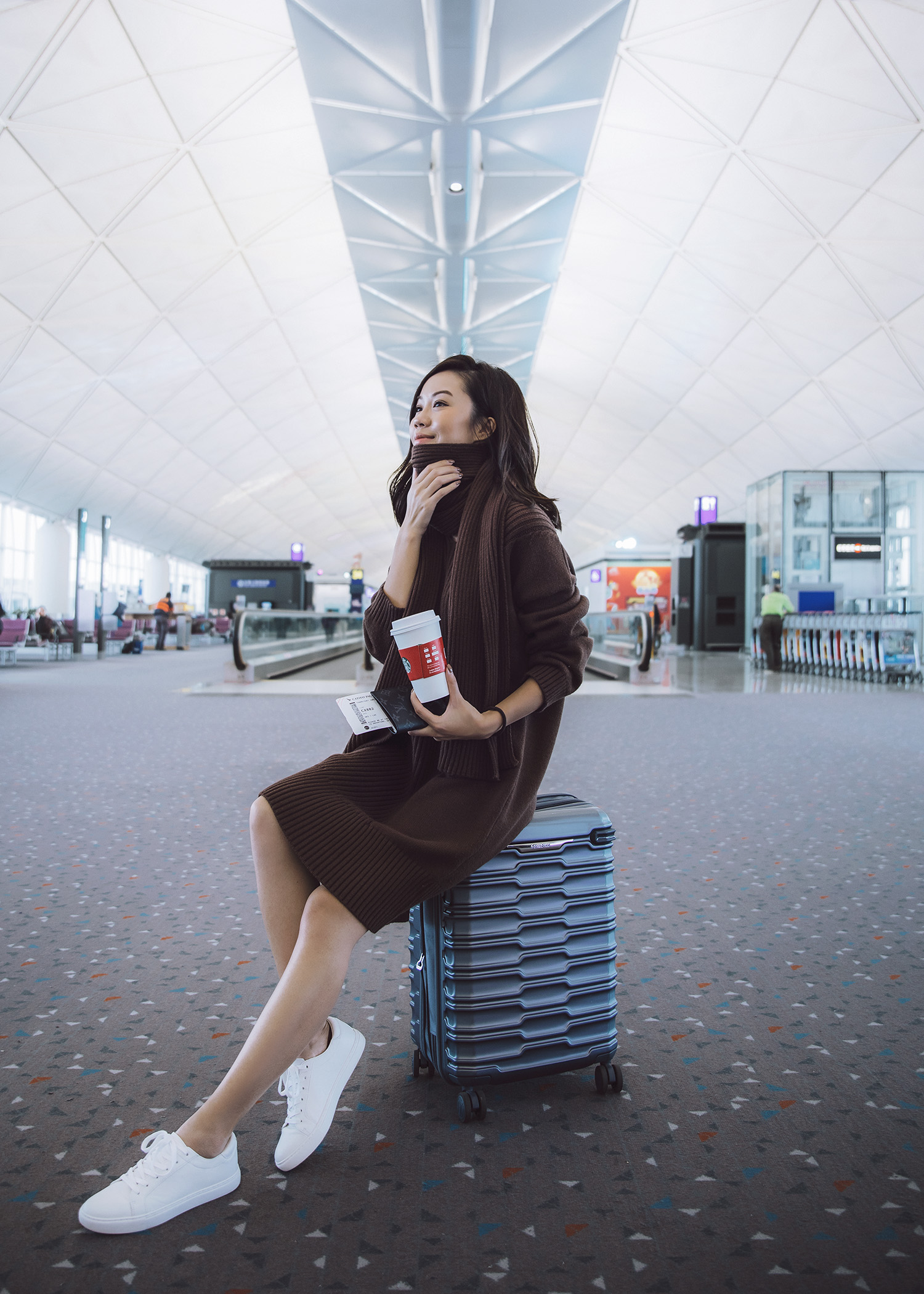 Hong Kong International Airport HKG Jenny Tsang of Tsangtastic in Hong Kong must see instagram spots must visit attractions