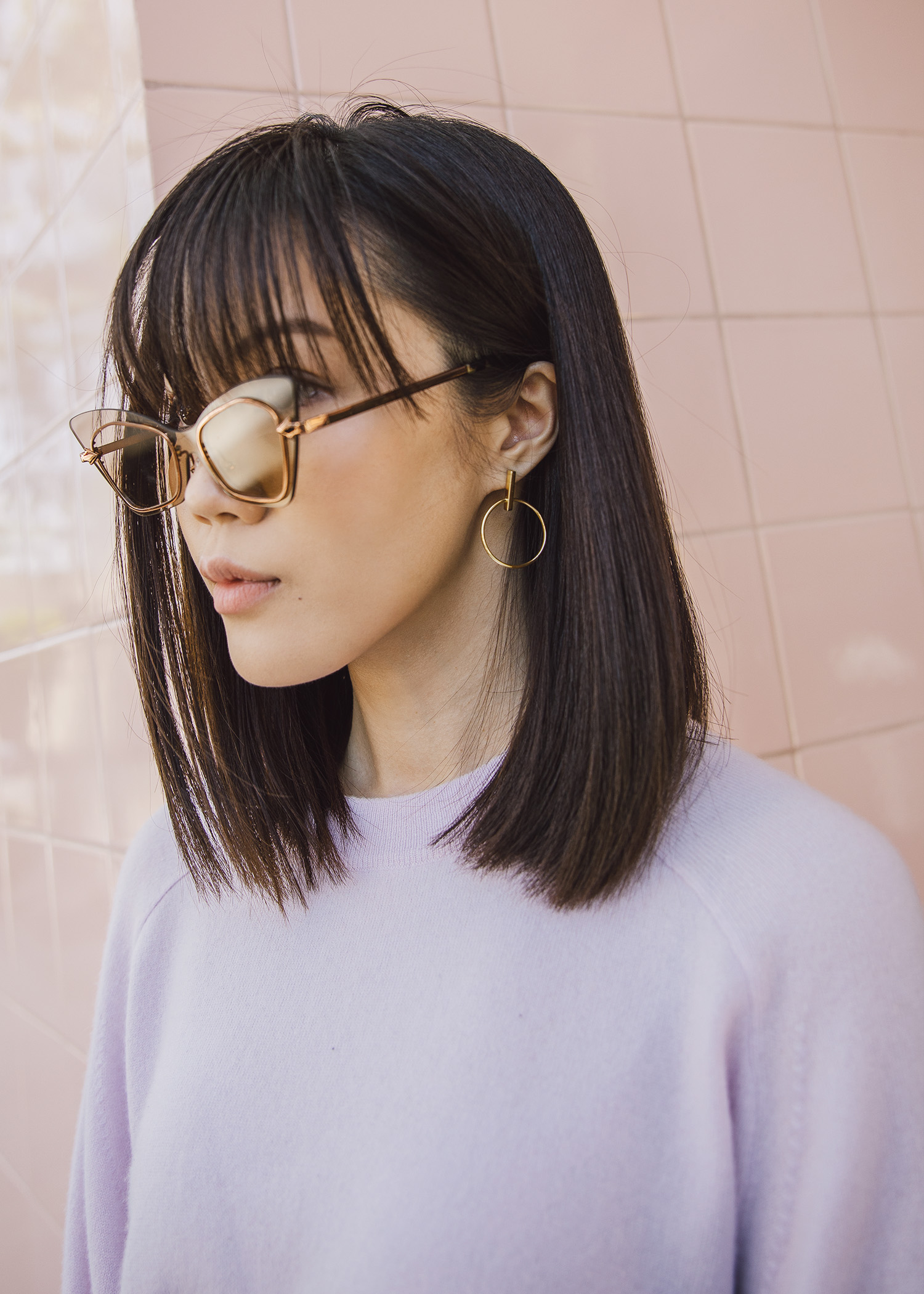 Top earring trends minimal gold earrings